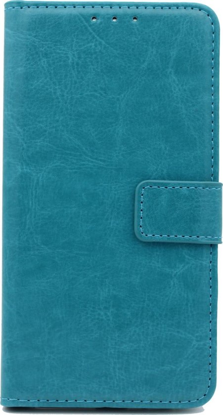 Huawei P Smart Z Hoesje - Portemonnee Book Case - Kaarthouder & Magneetlipje - Turquoise