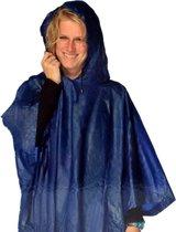 Lifetime Poncho - Blauw - One size