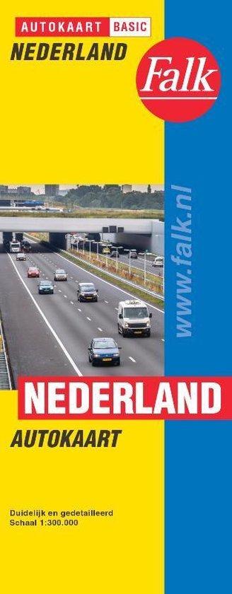 Falk autokaart Nederland basic - Falk Route.Nl |