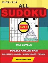 All sudoku mix levels. 400 puzzle collection.