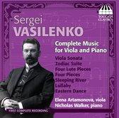 Vasilenko: Music For Viola