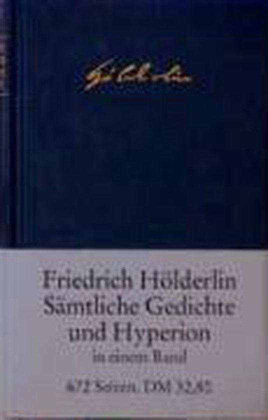 Sämtliche Gedichte und Hyperion