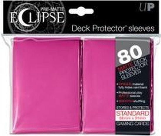 Afbeelding van het spel Standard Sleeves - Pro Matte Eclipse Pink (80) d8
