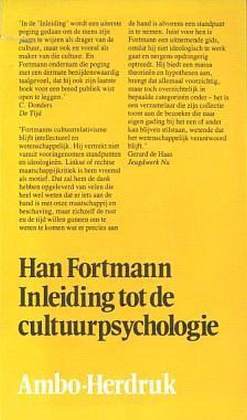Inleiding tot de cultuurpsychologie - Fortmann |