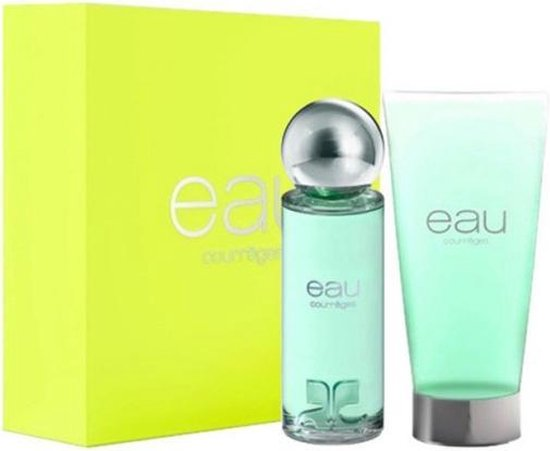 Eau De Courreges 90 ml Vap Edt+gel 150ml