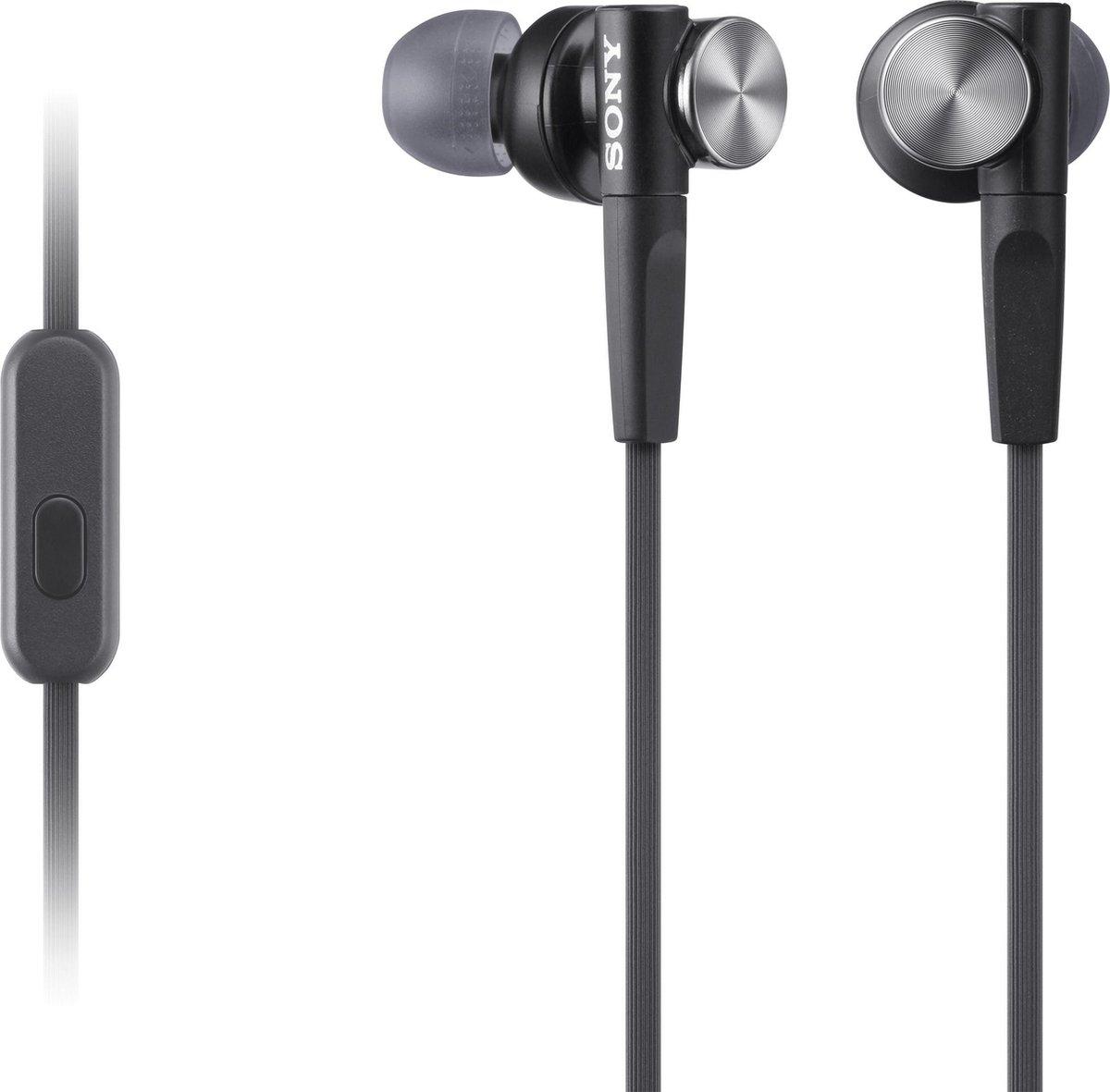 Sony MDR-XB50AP - In-ear oordopjes - Zwart