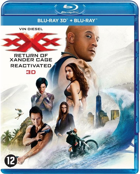 xXx: The Return of Xander Cage (3D Blu-ray)