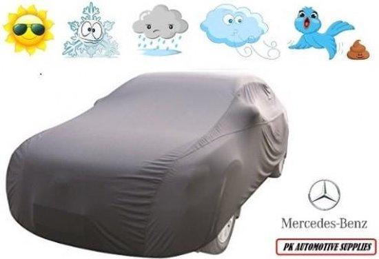 Autohoes Grijs Polyester Stretch Mercedes C Klasse W204 2007-