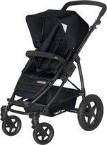 Koelstra Binque Daily Kinderwagen - Met Boodschappenmand Zwart