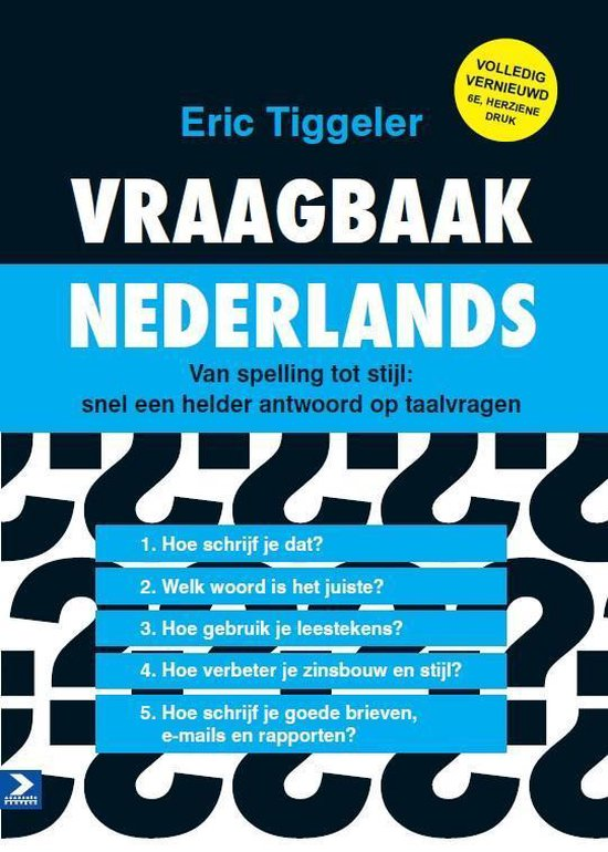 Vraagbaak Nederlands - Eric Tiggeler pdf epub