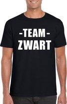 Sportdag team zwart shirt heren maat XXL