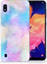Samsung Galaxy A10 TPU Siliconen Hoesje Watercolor Light