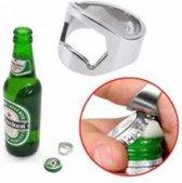 Unieke Fles Opener / Bieropener Ring - Set 2 Stuks - Geschikt Voor Bier Flessen!