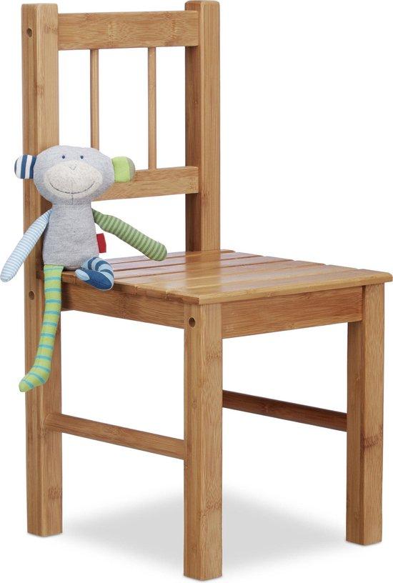 afmetingen houten kinderstoel