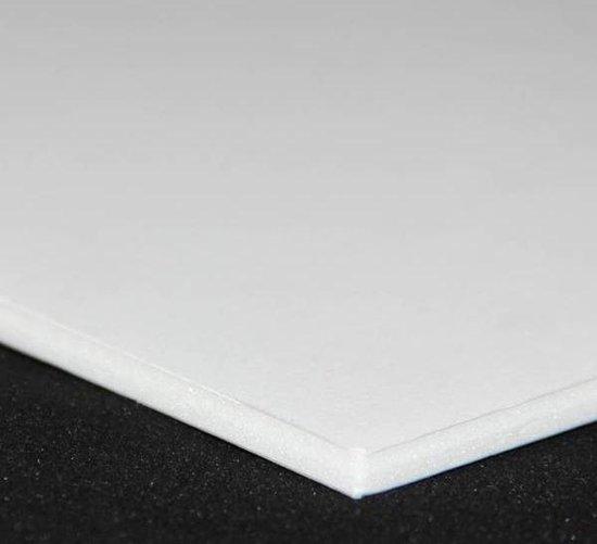 Afbeelding van Standaard foamboard 5,00 mm A3 29,7 x 42,0 cm Zijdes: Wit/Wit Kern: Wit (10 platen) speelgoed