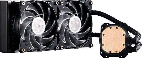 Cooler Master MasterLiquid ML240L RGB water & freon koeler Processor
