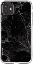 Apple iPhone 11 hoesje Black Marble Casetastic Smartphone Hoesje softcover case
