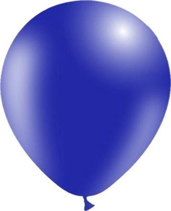 Donkerblauwe Ballonnen 30cm 10st