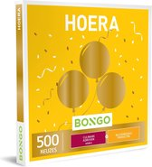 Bongo Bon Nederland - Hoera Cadeaubon - Cadeaukaart cadeau voor man of vrouw | 500 belevenissen: culinair, relax, leuke producten en meer