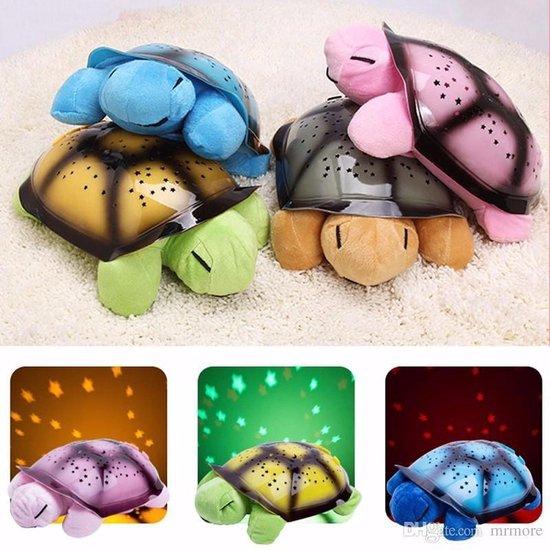 Nachtlampje schildpad roze turtle night light meisje
