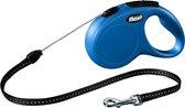 Flexi New Classic Koord - Hondenriem - Blauw - S - 5 m - (<12 kg)