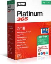 Nero Platinum 365 - 1 Gebruiker - 1 Jaar - Meertalig - Windows