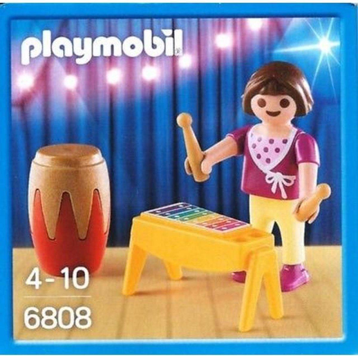 Playmobil 6808 Meisje Met Xylofoon En Drum