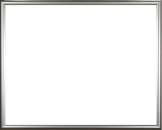 Homedecoration Biggy – Fotolijst – Fotomaat – 32 x 83 cm – Kunststof – Zilver