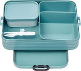 Mepal Bento Take a Break Lunchbox - 1.5 l - Nordic green