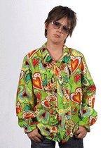 Hippie blouse met rouches voor kids 116