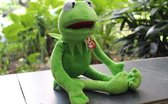 Pluche Kermit de kikker 40 cm