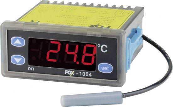 Koelkast: Conrad Components D1004 Temperatuurregelaar D -40 tot +90 °C Relais 2 A (l x b x h) 77 x 79 x 35 mm, van het merk Conrad components