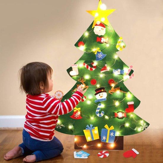 kerstboom met verlichting 2020 bol.| Vilten Kerstboom   Kinderkerstboom   Kerstboom voor