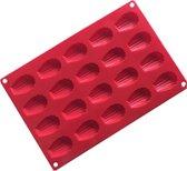ProductGoods - Siliconen Bakvorm - Bonbonvorm - Chocoladevorm - Madeleine vorm - 20 stuks - Bakvormen