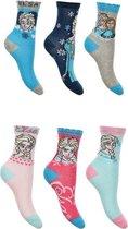 6 paar sokken Disney frozen 27/30
