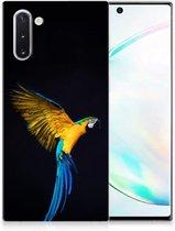 Samsung Galaxy Note 10 TPU Hoesje Papegaai