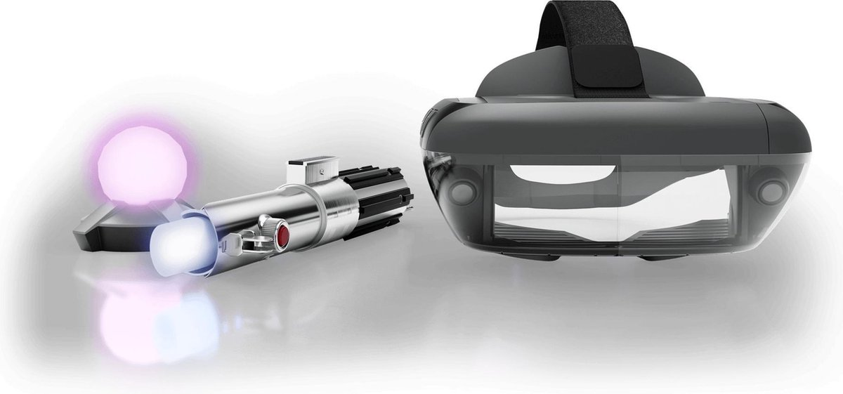 Lenovo Star Wars Jedi Challenges Augmented Reality - VR headset + lightsaber