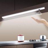 Keukenverlichting Onderbouw Led - Onderbouwverlichting - Kastverlichting Met Bewegingssensor - Plafond Verlichting - Bewegingssensor - Led - 30cm - Wit