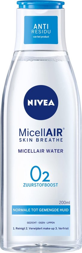 Nivea 3-in-1 Micellair Water Normale tot Gemengde Huid 200 ml