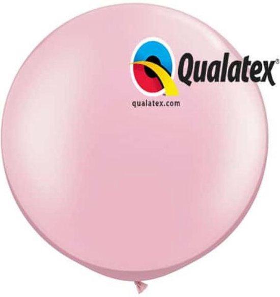 Megaballon Pearl Pink 95 cm 2 stuks