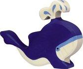 Holztiger blauwe walvis