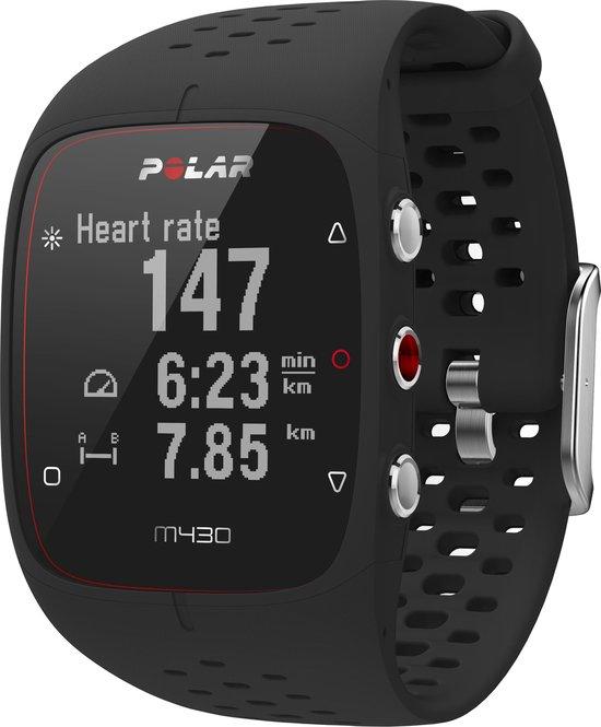 Polar M430 GPS Sporthorloge - Small - Zwart