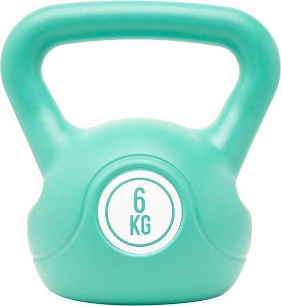 Fit Essentials - Kettlebell - 6 KG - Turquoise