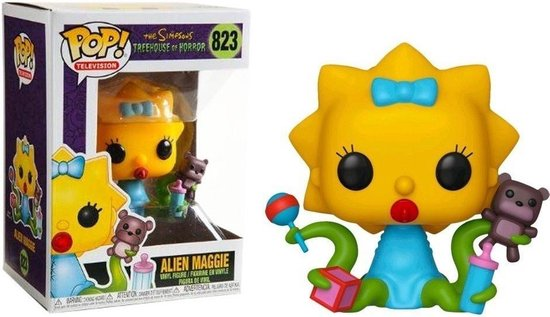 Pop! Television: The Simpsons - Alien Maggie FUNKO