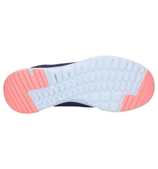 Skechers Flex Appeal 3.0 Breezin' Kick Dames Sneakers - Blauw Maat 41 xL3wcq