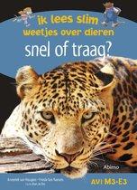 Boek cover Ik lees slim : weetjes over dieren - Snel of traag? van Anneriek van Heugten