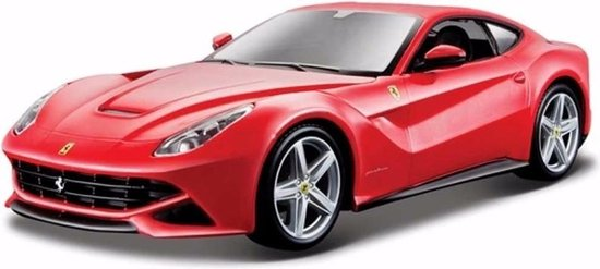 Speelgoed modelauto Ferrari F12 Berlinetta rood 1:24 - Bburago