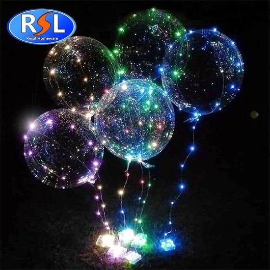 Resal 20 Inch Lichtgevende Led Ballon - 1 Stuk