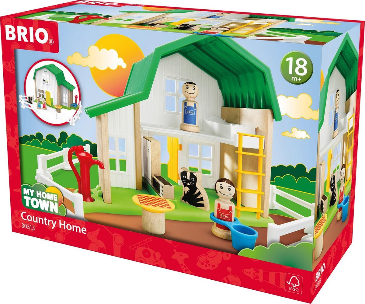 BRIO Boerderij huis - 30313