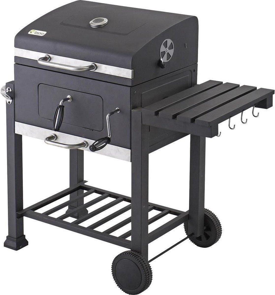 Tepro Garten Toronto Barbecue -  Grilloppervlak (LxB) 56 x 42 cm - Thermometer In Deksel - RVS